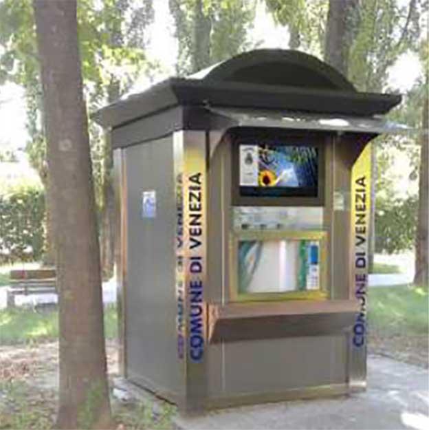 Water2Go vandautomater som standard hus