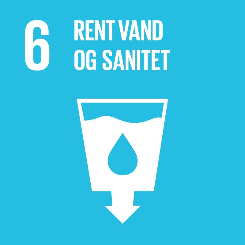 Verdensmål 6 - rent drikkevand og sanitet