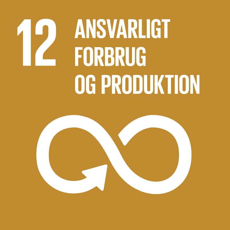 Verdensmål 12- ansvarlig produktion og forbrug