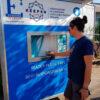 Drikkevandspost giver frisk vand til festivaler