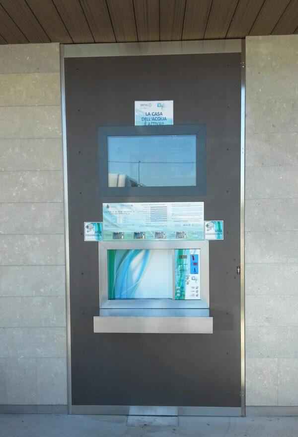 wetap vandautomat på station