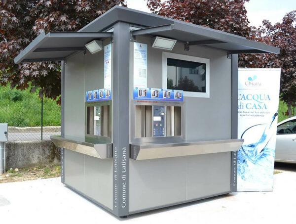 wetaps drikkevandsfontæne der leverer iskoldt og friskt vand og danskvand