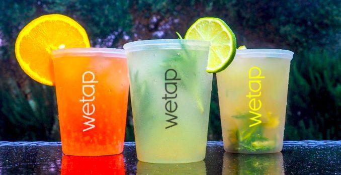 Genbrugskrus til drinks